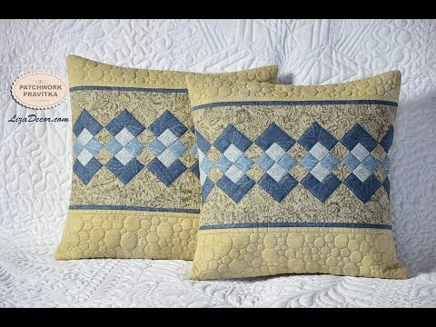 Patchwork tutorial Seminole - Rychlé šití z pruhů - Ubrus / prostírání / polštář.