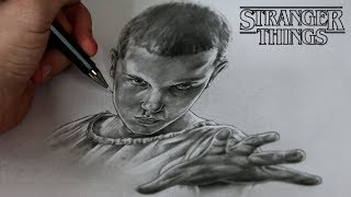 How To Draw eleven from Stranger Things