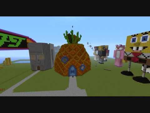 Minecraft Spongebob Squarepant 39 S Pineapple House Epic