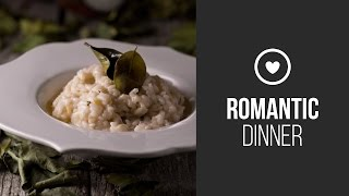 Salmon Fillet With Coconut Risotto And Lemongrass || Around The World: Romantic Dinner || Gastrolab