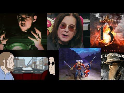 Ozzy Osbourne/ Post Malone It's a Raid - Iron Maiden puzzles - Nita strauss solo album - Durbin