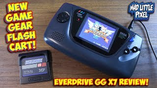 NEW Sega Game Gear Flashcart! Save States, Instant Loading & Master System! Everdrive GG X7 Review!