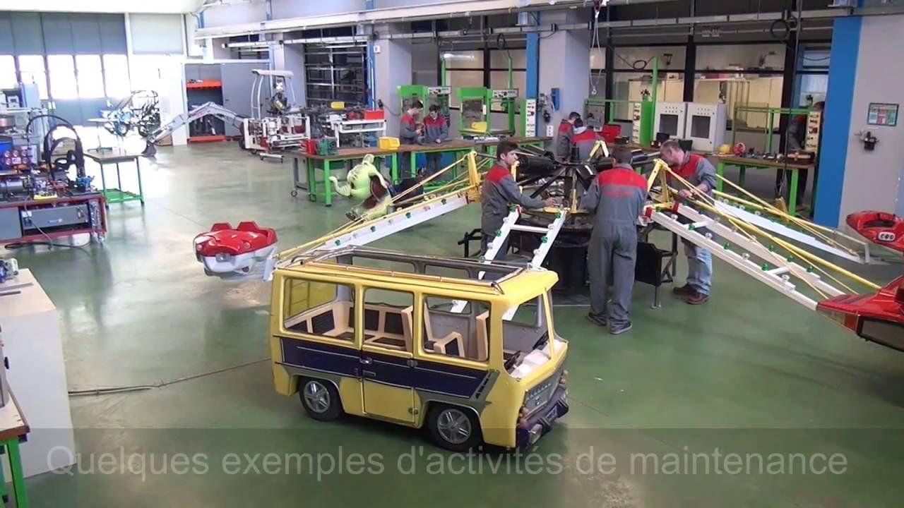 bac pro mei  maintenance des equipements industriels