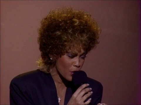 Whitney Houston  You Give Good Love  at Soul Train Awards 1987