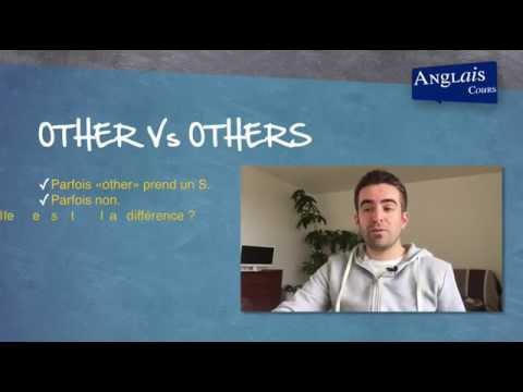 Other, others, another en anglais