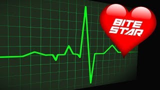 HEART BEAT Sound Effect - Slow to Fast, Flatline and Heart Attack Sounds (Bite Star)