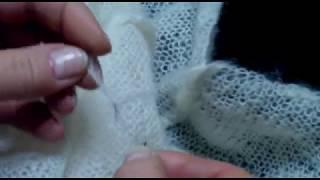 Туника (свитер оверсайз) Вязание спицами Урок 12