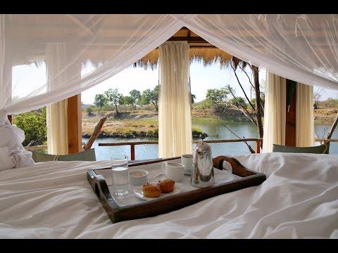 Sindabezi: Private Island Bush Camp in Zambia
