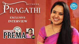 Actress Pragathi Exclusive Interview || Dialogue With Prema || Celebration Of Life #314