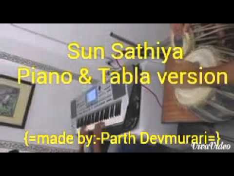 sun sathiya tabla & piano verson