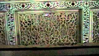 Inside the Taj Mahal Tomb