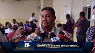 Denuncian la falta de transporte por escasez de gasolina en Lara - Noticias EVTV - 05/23/2019
