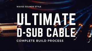 Ultimate D-Sub DB25 Multicore Cable Build Jack TRS NP3X Neutrik Complete Build with PASSION & CARE