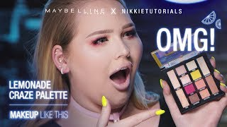 And we're back! We are kicking off Maybelline + NikkieTutorials Mak...