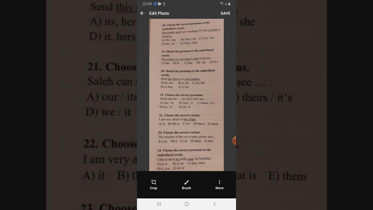Deyanet liseyi Ingilis dili Seh 64 Tap 23 Pronoun bolmesi 5sinif