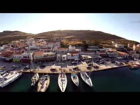 Kea, Greece, Harbor  Aerial Views