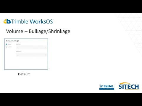Trimble Construction Software | WorksOS Project Settings | Tutorial