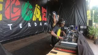 Dj DarkShot Play Tune Dub Macka Diamond @Reggae Festival Rotterdam 2019