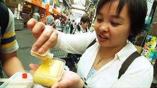 惊奇日本:你沒見過的日本豆腐【豆腐が外国人に大人気】~ビックリ日本~