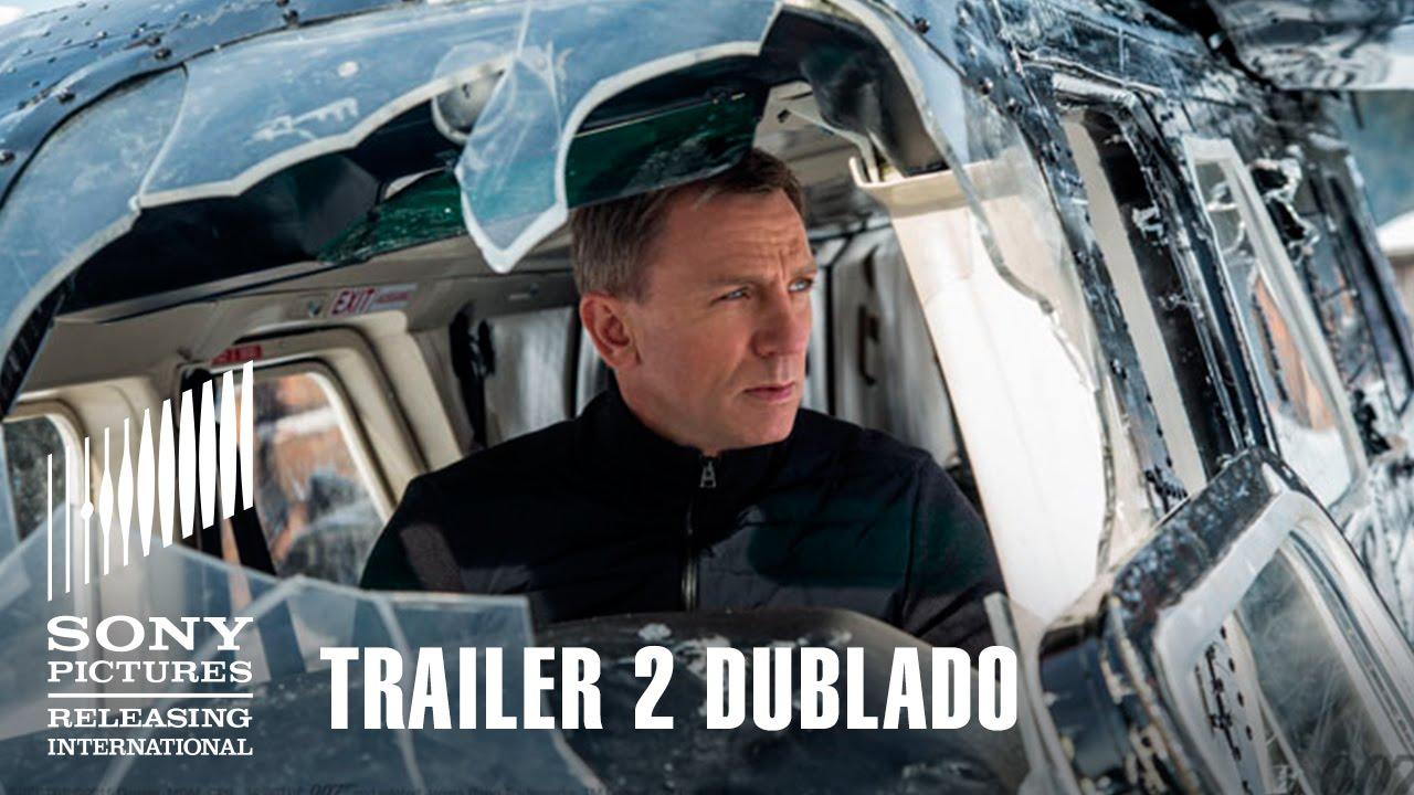 007 CONTRA SPECTRE | Trailer 2 Dublado | 5 de novembro nos cinemas