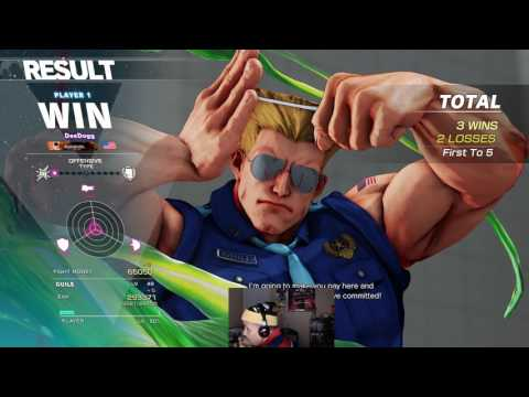 Street fighter V – DeeDogg vs Free1up FT5