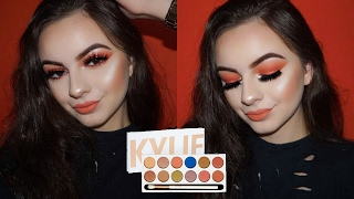 KYLIE COSMETICS ROYAL PEACH PALETTE | Tutorial & Review
