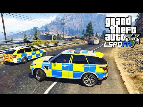 POLICE RANGE ROVER PATROL | GTA 5 PC LSPDFR | The British Way #131