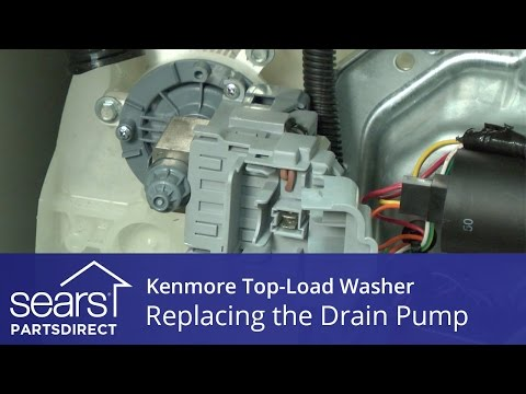 How To Replace A Kenmore Washing Machine Water Pump