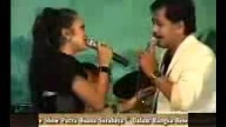 om putra buana anisa rahma with bayu arizona dinding kaca