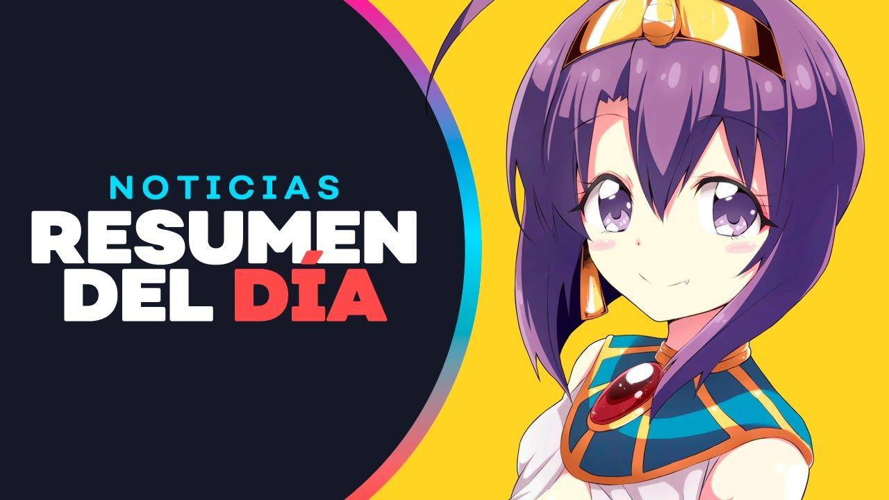 Jashin-chan Dropkick Promete Temporada 3, Hamefura tendrá un Manga Yuri y más - Noticias