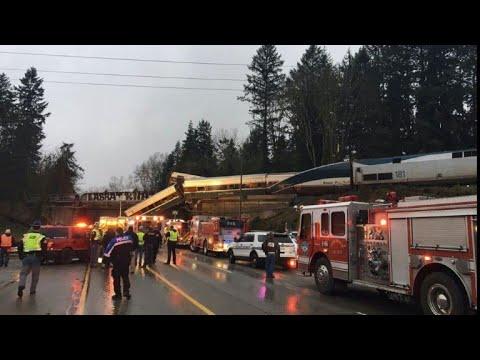 Multiple deaths in train derailment in Washington state