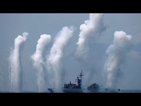 بالفيديو: القوات الجوية الصينية تطوّق تايوان في ختام مناورات عسكرية كبرى تجريها الصين…  - نشر قبل 53 دقيقة