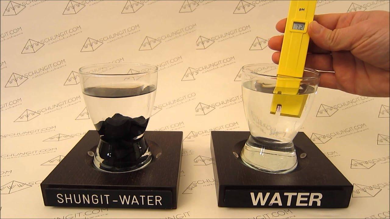Ph Wert Im Schungit Wasser Youtube