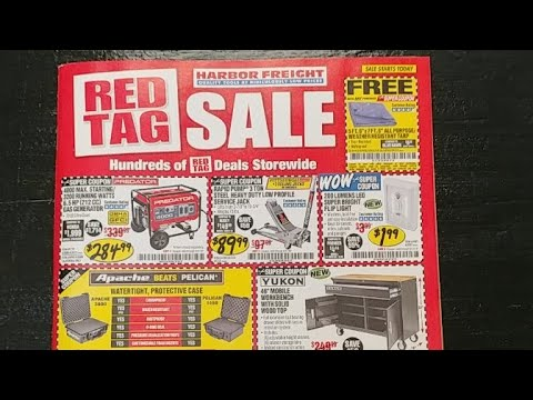 🔧Harbor Freight🚢 May 2018 Catalog Live!...Wow!😱