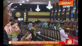 Bacaan doa oleh Sahibul Samahah, Mufti Kerajaan Negeri Perak
