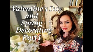 Spring and Valentine Home Décor Series Part 1