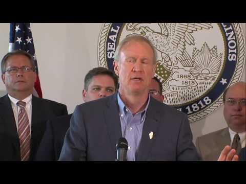 Gov. Bruce Rauner criticizes Michael Madigan, Democrats