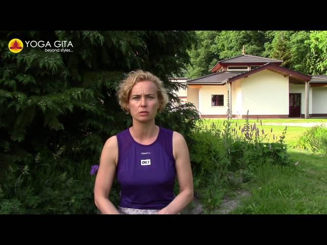 Yoga Gita testimonial by Hanne