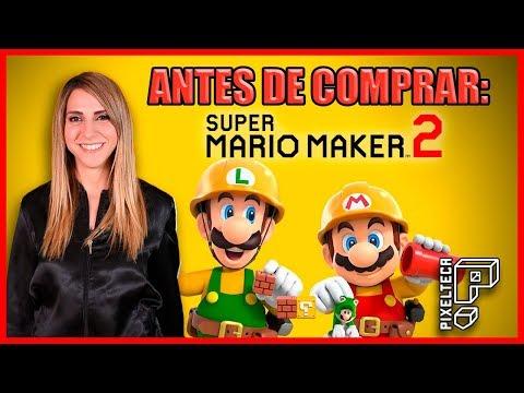 Super Mario Maker 2: ¿Deberías comprarlo?