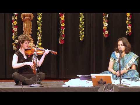 Dikshitar meets Mozart: Deepti Navaratna feat. Abby Swidler & Jacob Means