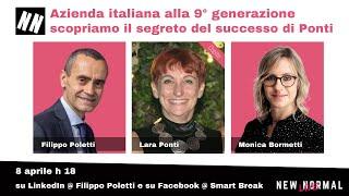 Lara Ponti, CEO di Ponti, a New Normal Live