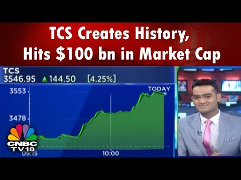 TCS Creates History, Hits $100 bn in Market Cap | Chartbuster | CNBC TV18