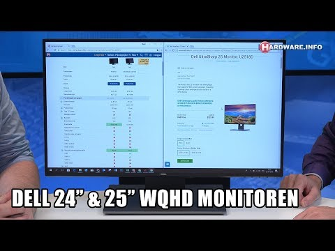 Dell P2418D & U2518D WQHD monitoren review - Hardware.Info TV (4K UHD)