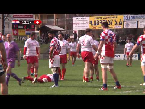 Swiss Rugby Day, April 2015 - Switzerland v Croatia