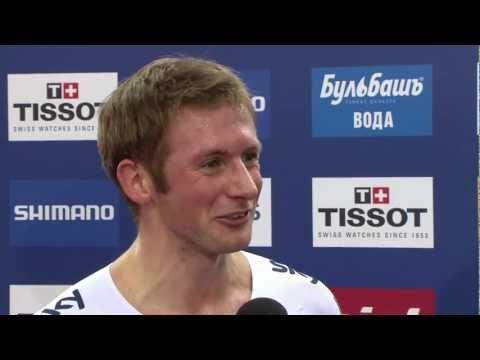 Jason Kenny interview - Men's Keirin 2013 UCI World Track Championships