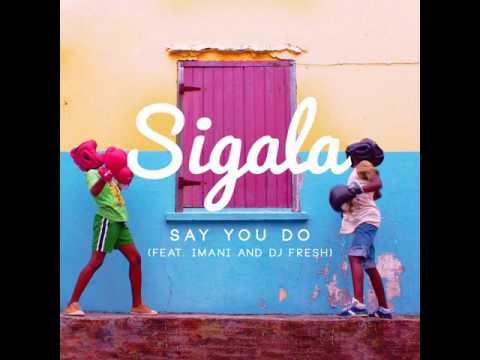 Sigala Ft. Imani & DJ Fresh - Say You Do (House Robot Re-Edit)