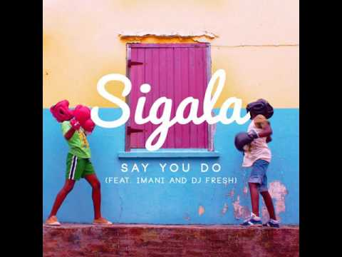 Sigala Ft. Imani & DJ Fresh - Say You Do (House Robot Re-Edit)