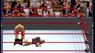 WWE - Road to WrestleMania X8 (GBA) -Christian Vs Hulk Hogan- Vizzed.com GamePlay