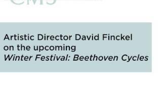 Winter Festival: Beethoven Cycles - 2009-2010 CMS Season