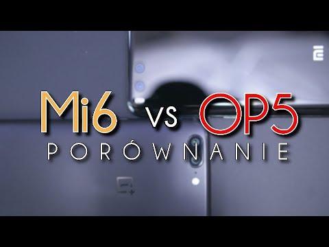 Xiaomi mi6 | VS |  OnePlus 5 - porównanie tanich flagowców #88 [PL]